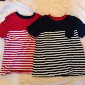GAP  2 boys t-shirts M (8)